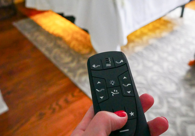 A remote for a Tempur-Pedic adjustable power base